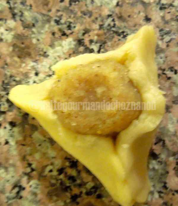 triangles amandes pliagesF